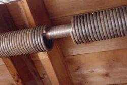 broken garage door spring in metro Minnesota
