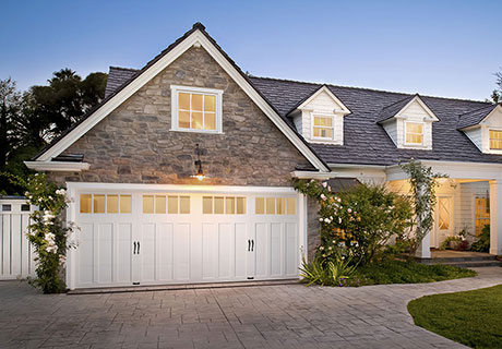 Authentic Looking Insulated Steel And Composite Carriage House Garage Doors
