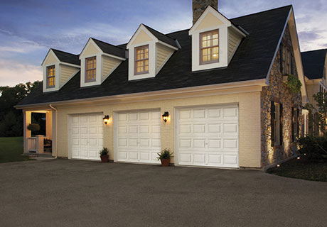 Value Series steel insulated garage doors from Clopay