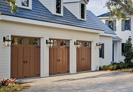 canyon ridge three garage doors