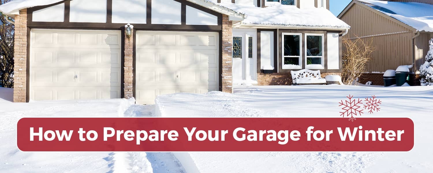 How to prepare your garage for winter ole and lenas mn snow covered garage solutioingenieria Choice Image