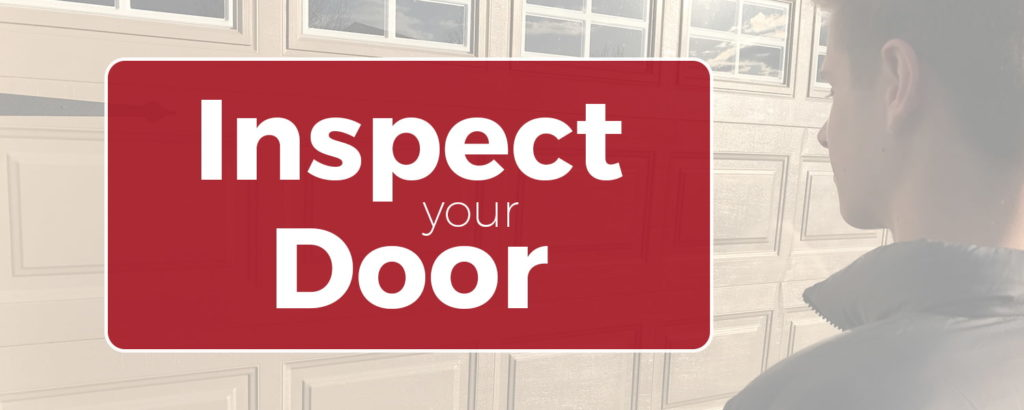 Inspect your door