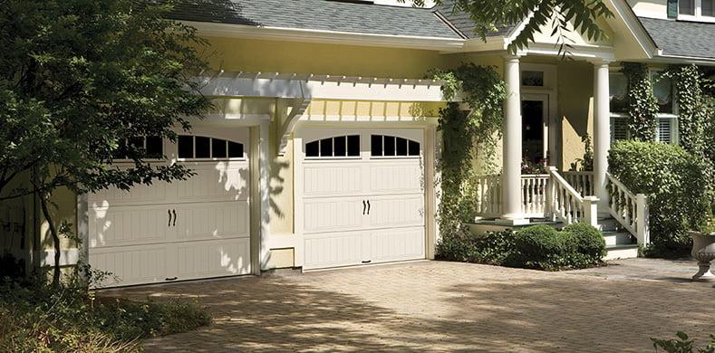 arch garage door