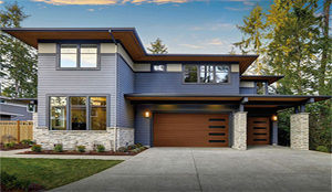 clopay canyon ridge modern garage door