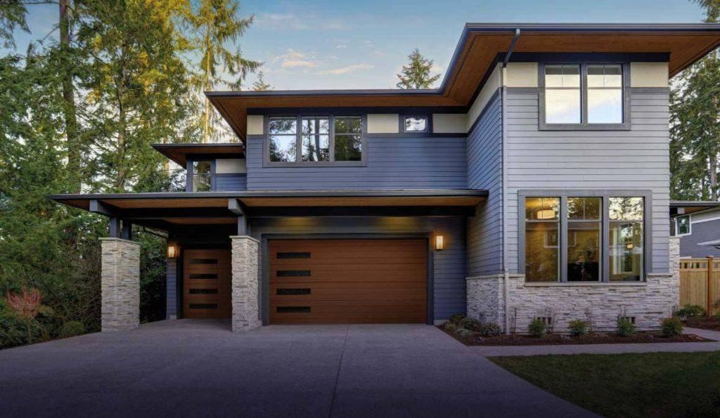Clopay canyon ridge modern series garage doors