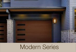 canyon ridge modern series garage door