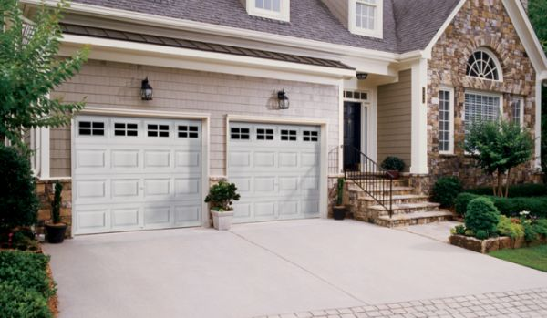 Clopay steel door from Clopay - 2 door garage