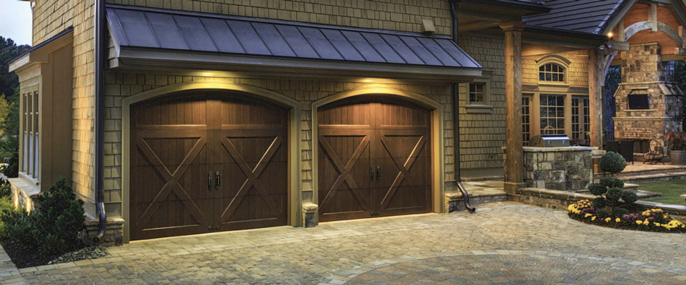 Clopay Reserve Wood Collection Limited Series Garage Doors